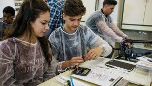 Imatge del programa educatiu 'Energia amb consciència' de la Fundació Repsol