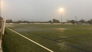 Imatge del terreny de joc del CF Reus B Cambrils