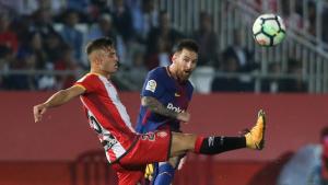 Imatge d'un partit entre el Barça i el Girona