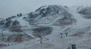 Imatges de la neu a Baqueira