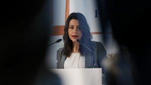Inés Arrimadas ha carregat amb duresa contra TV3 per un esquetx del 'Polònia'