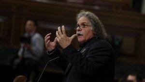 Joan Tardà ha criticat durament Pablo Casado al Congrés dels Diputats