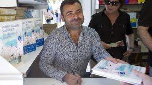 Jorge Javier Vázquez en la presentación de su libro 'La vida iba en serio', en 2013.