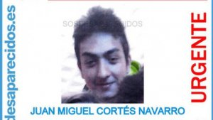 Juan Miguel Cortés, desaparecido en Alicante el pasado 30 de septiembre