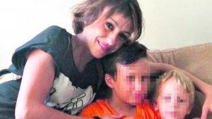 Juana Rivas y sus hijos