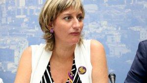 La consellera de salut, Alba Vergés Bosch