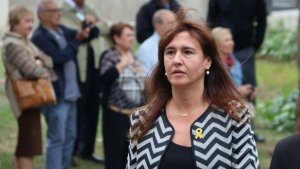 La consellera Laura Borràs ha contestat de manera dràstica a una crítica per part de Ciutadans
