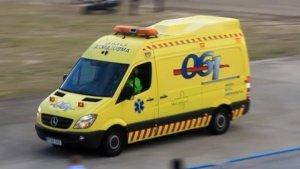 La mujer ha tenido que ser trasladada al hospital por las lesiones sufridas
