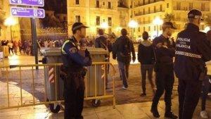 La Policia Local de València reforçarà el seu dispositiu per a la nit de Halloween