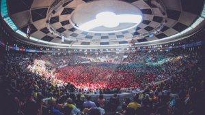 La Tàrraco Arena Plaça, plena a la darrera edició del Concurs de Castells.