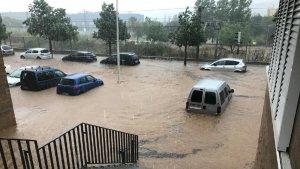 Intentem no agafar el cotxe en cas de forta pluja