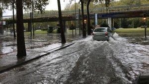 Las tormentas pueden causar inundaciones en algunos puntos