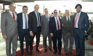 L'equip directiu d'Andreu Subies, en una imatge d'arxiu.