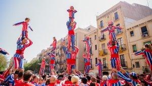 Les imatges de la Diada Castellera Internacional a Tarragona