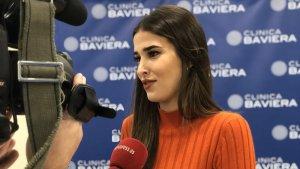 Lidia Torrent s'ha operat de la vista a la Clínica Baviera de Madrid