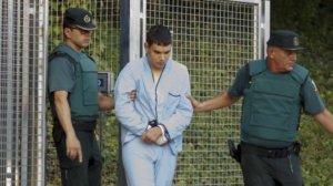 Mohamed Houli Chemlal, detingut per la Guàrdia Civil, quan va ser posat a diposició de l'AN.