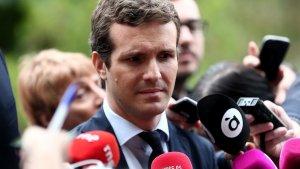 Pablo Casado ha carregat amb duresa contra la reunió de Junqueras i Iglesias a Lledoners