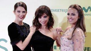 Paula Echeverria , Juana Acosta and Maribel Verdu en el estreno de 'Ola de Crímenes'