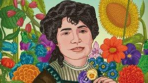 Poemas de Rosalía de Castro, aquí ilustrada por Luisa Carnés.