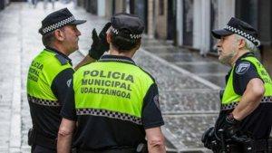 Policia municipal de Pamplona
