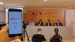 Presentació de l'aplicació ConvoAPPTGN al Col·legi de Periodistes