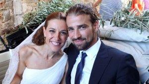Raquel Sánchez y Mario Biondo, el día de su boda