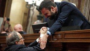 Roger Torrent demana una reconciliació entre Junts per Catalunya i Esquerra