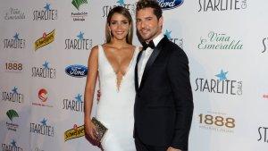 Rosanna Zanetti junto a su pareja, el cantante David Bisbal.