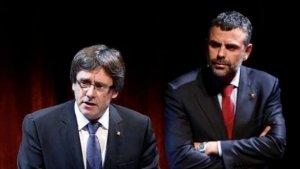 Santi Vila explica que ha trencat relacions amb Puigdemont, tot i que diu que ha preguntat per ell