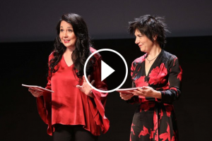 Txe Arana  i Empar Moliner als Premis Vinari 2018
