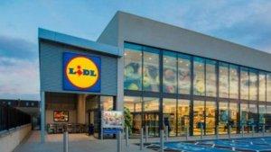 Un supermercat de la cadena alemana Lidl