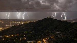 Vuelve este jueves el riesgo de tormentas torrenciales en la provincia de Castellón y Valencia