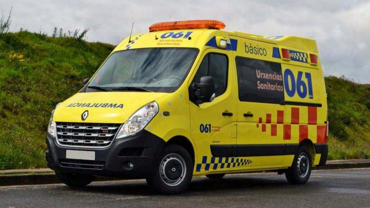 Los servicios sanitarios de Galicia han tenido que atender varios accidentes durante las últimas horas