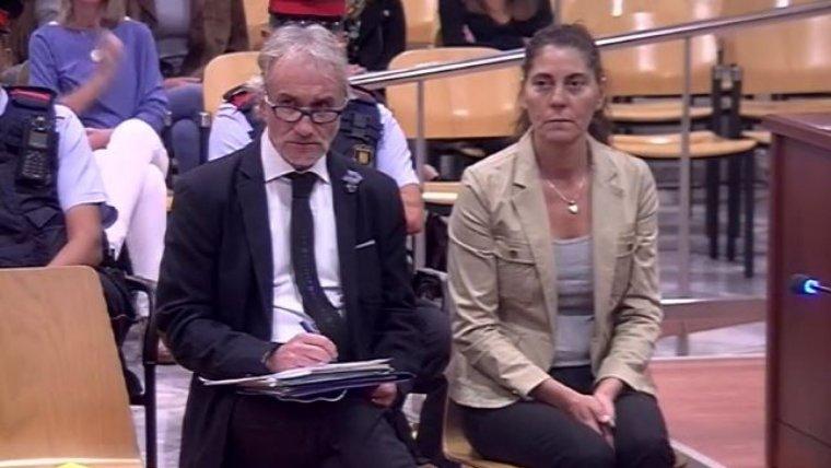 Fernando Blanco i Marga Garau durant el judici
