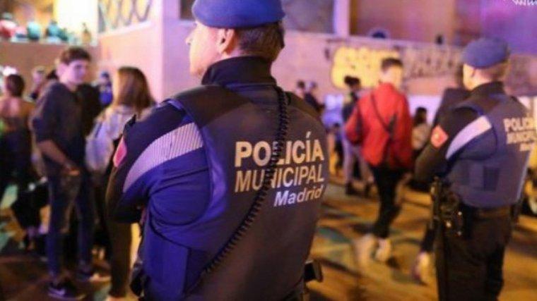 Imagen de archivo de dos agentes de la Policía Municipal de Madrid.