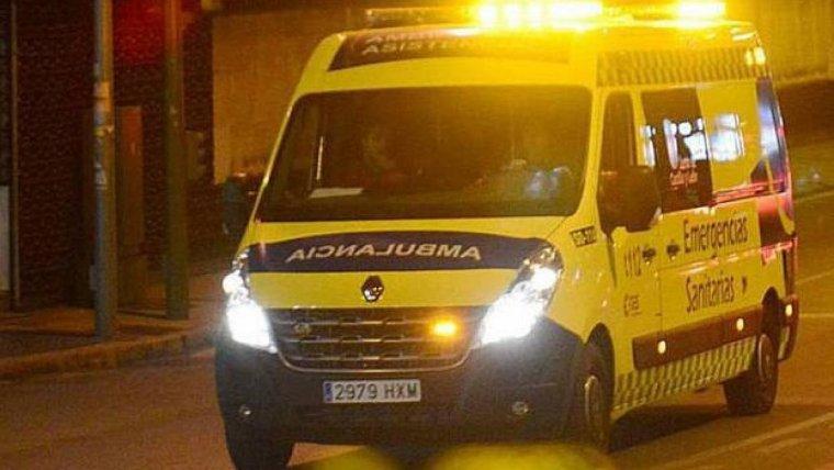 Imagen de una ambulancia de Emergencias Sanitarias - Sacyl