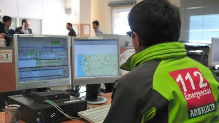 Imagen del Servicio de Emergencias 112 Andalucía.