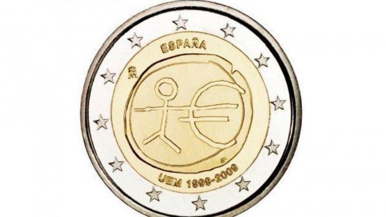 Moneda de dos euros de España