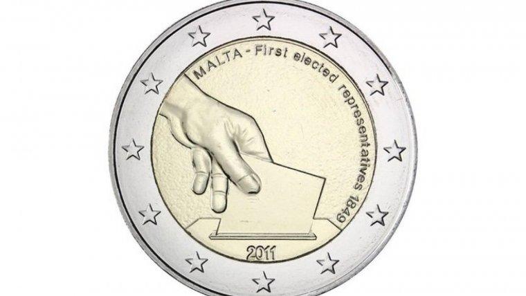 Moneda de dos euros de Malta