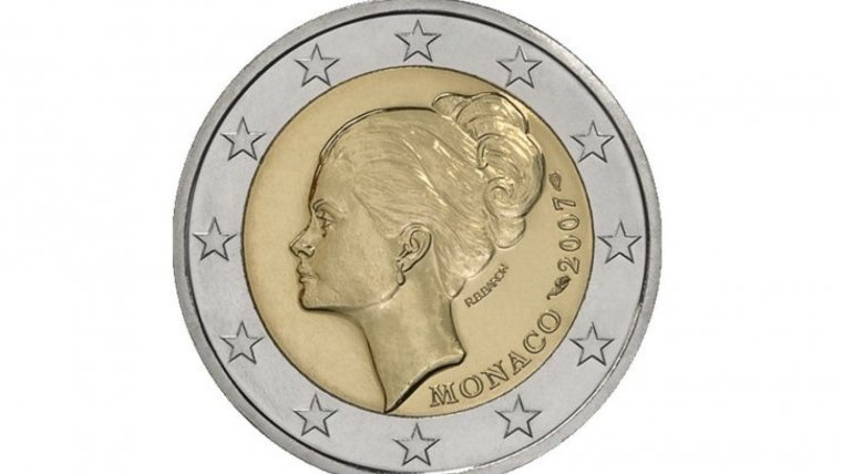 Moneda de dos euros de Mónaco