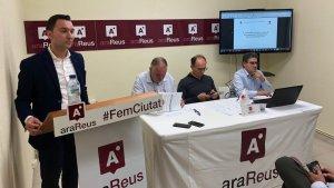 Acte de l'assemblea extraordinària del grup municipal Ara Reus