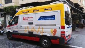 Ambulancia de Alicante