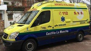 Ambulancia Sescam Castilla-La Mancha