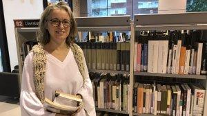 Ana Merino és la directora de la Biblioteca Mestra Maria Antònia de Torredembarra.