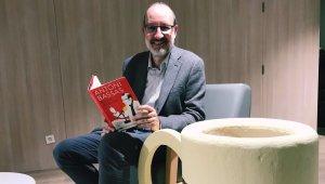 Antoni Bassas a la Biblioteca Central de Cerdanyola