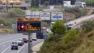 Aprovada una moció d'ERC per augmentar les bonificacions dels peatges als transportistes