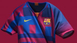 Aquesta serà la camiseta de col·lecionisme que commemora els 20 anys de relació Nike-Barça