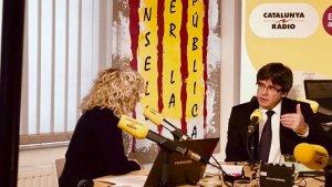 Carles Puigdemont s'ha oferit per ser el número 2 d'Oriol Junqueras a les eleccions europees