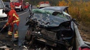 Diversos ferits en dos accidents produïts un a la N-330 i l'altre a la CV-35