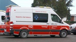 Dos trabajadores han resultado heridos de gravedad.